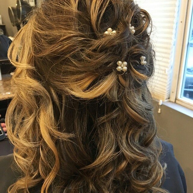 recreations salon prom hair